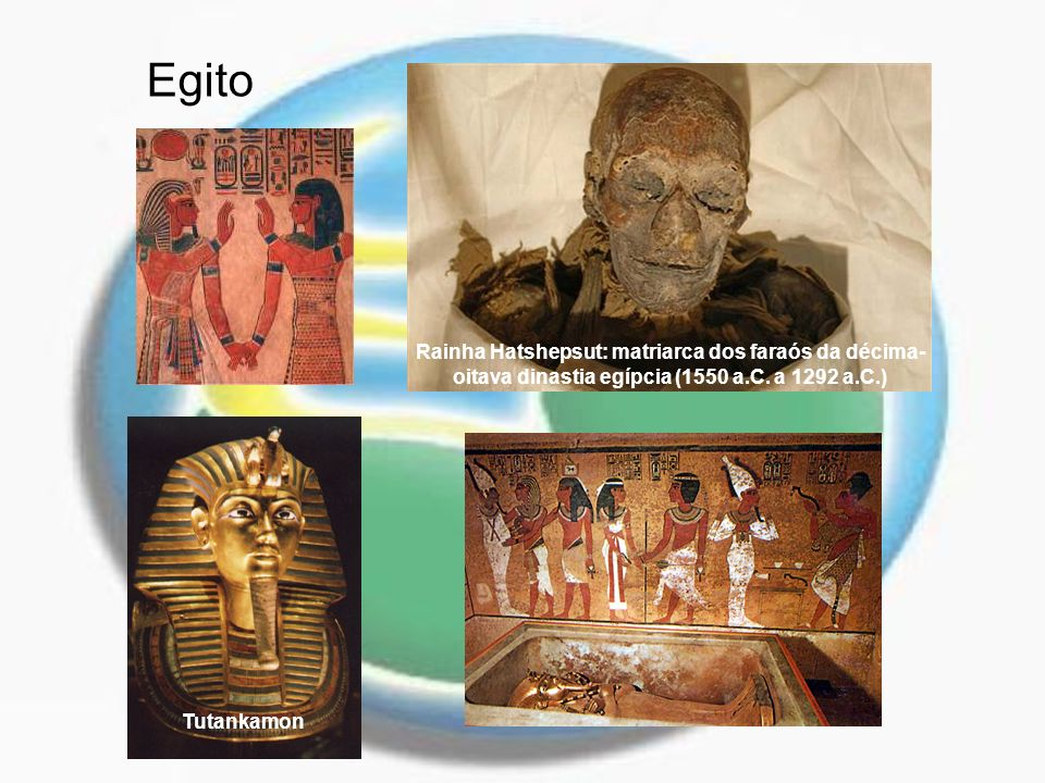 Egito Rainha Hatshepsut: matriarca dos faraós da décima-oitava dinastia egípcia (1550 a.C. a 1292 a.C.)
