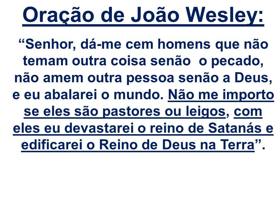 Oração de João Wesley: