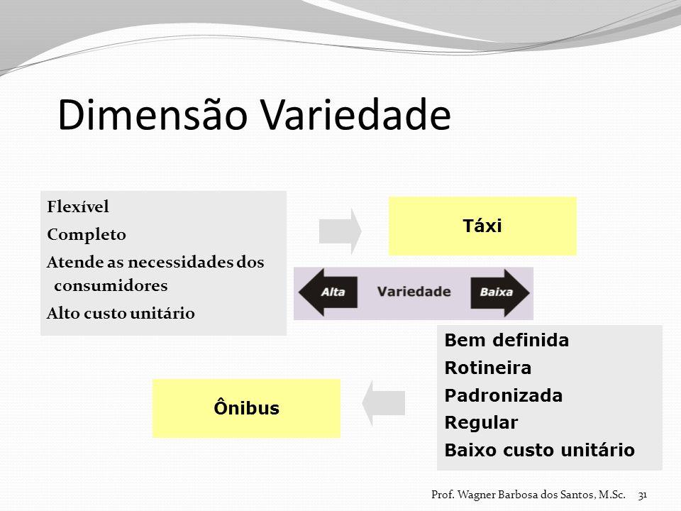 Dimensão Variedade Flexível Completo Táxi