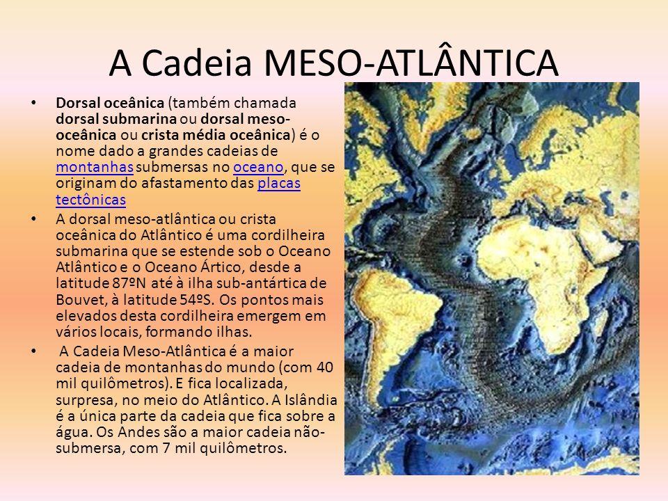 A Cadeia MESO-ATLÂNTICA