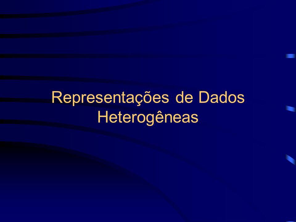 Representações de Dados Heterogêneas