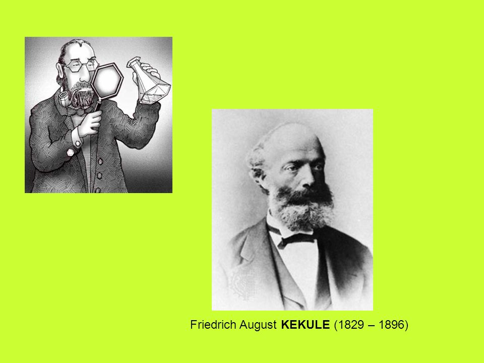 Friedrich August KEKULE (1829 – 1896)