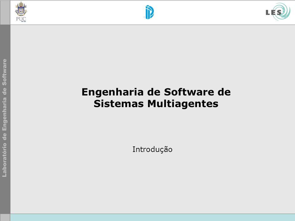 Engenharia de Software de Sistemas Multiagentes