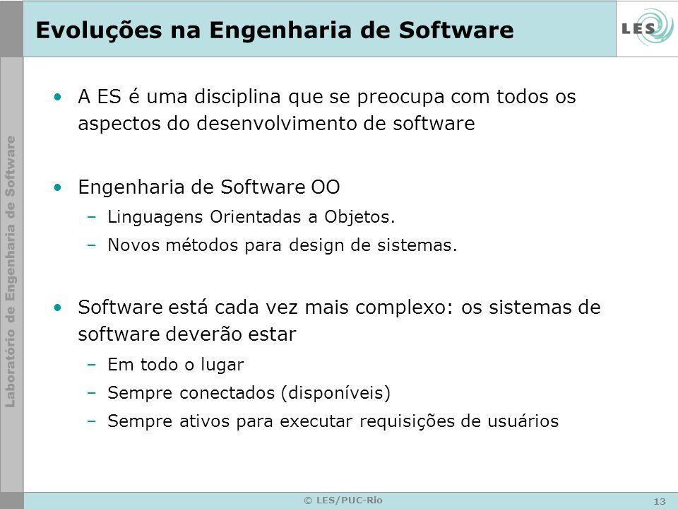 Evoluções na Engenharia de Software
