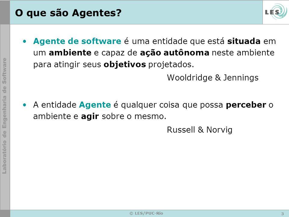 O que são Agentes