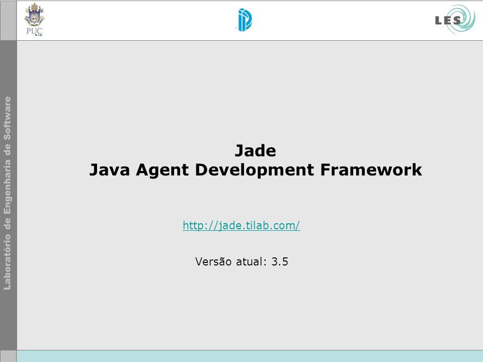 Jade Java Agent Development Framework