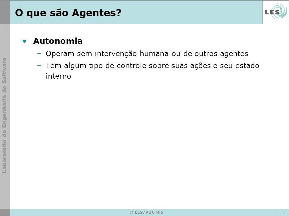 O que são Agentes Autonomia