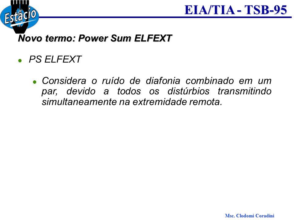 Novo termo: Power Sum ELFEXT