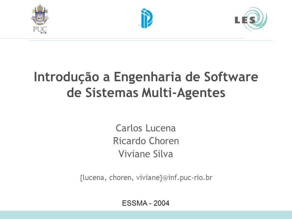 Introdução a Engenharia de Software de Sistemas Multi-Agentes