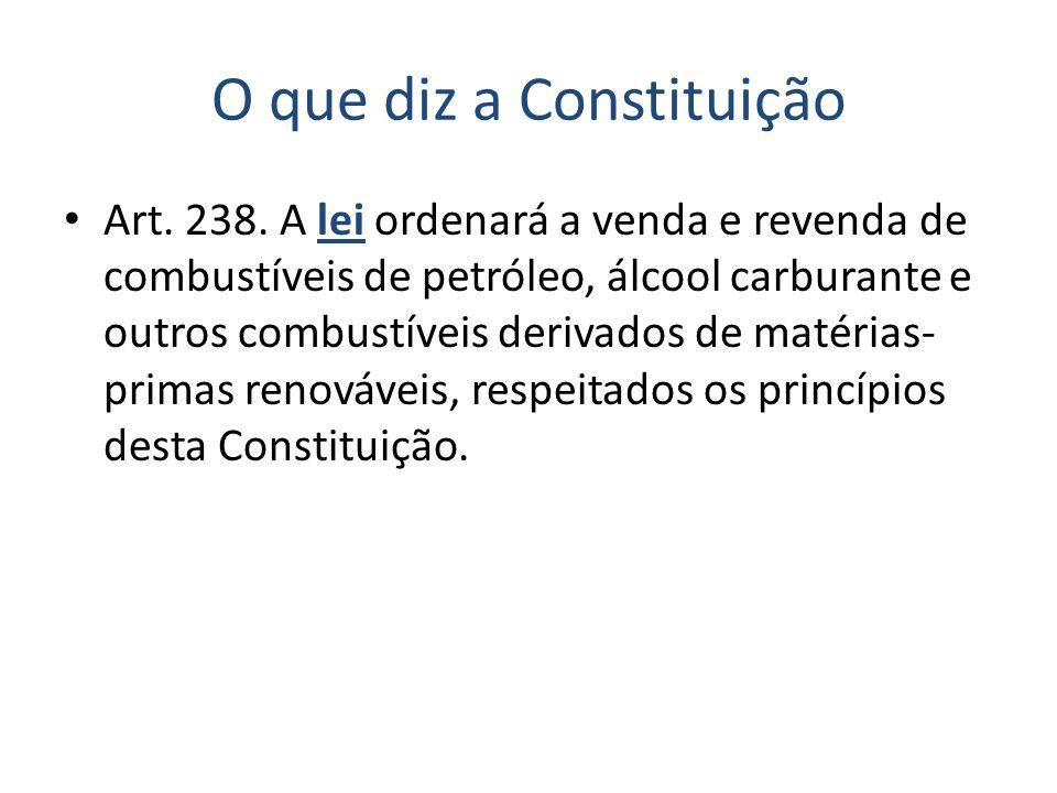 O que diz a Constituição