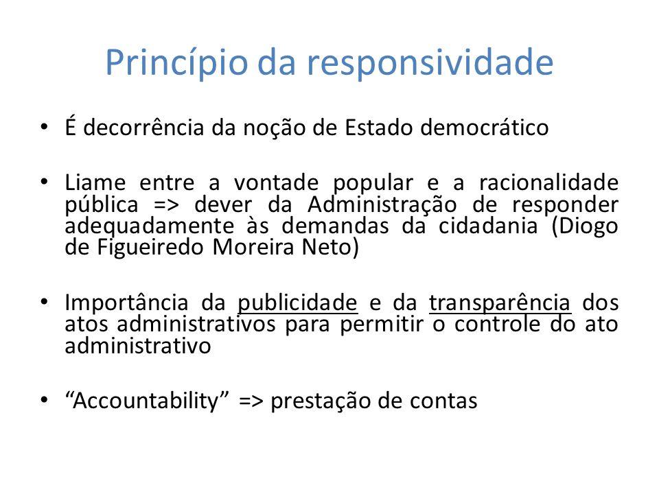 Princípio da responsividade