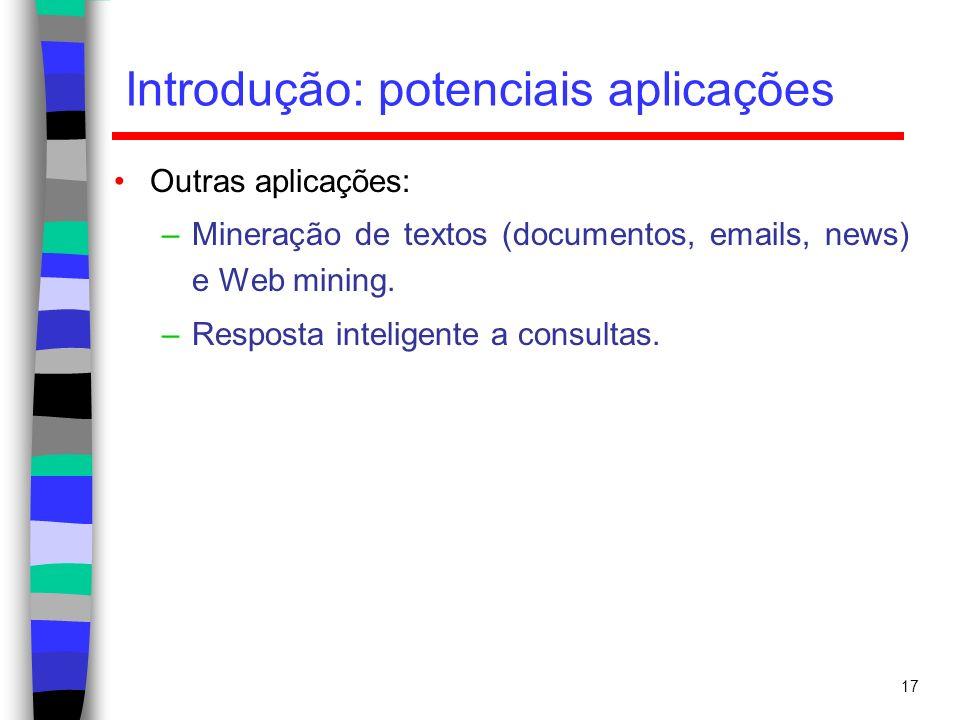 Introdução: potenciais aplicações