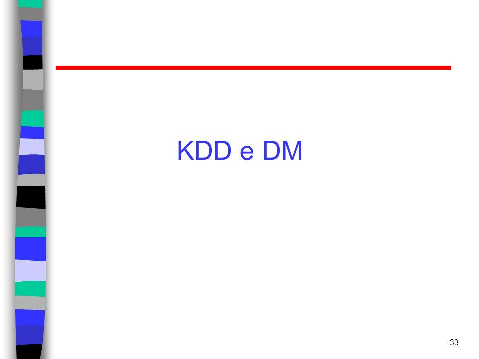 KDD e DM