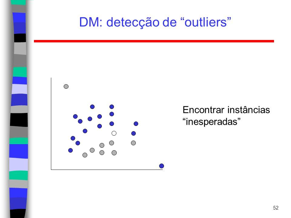 DM: detecção de outliers