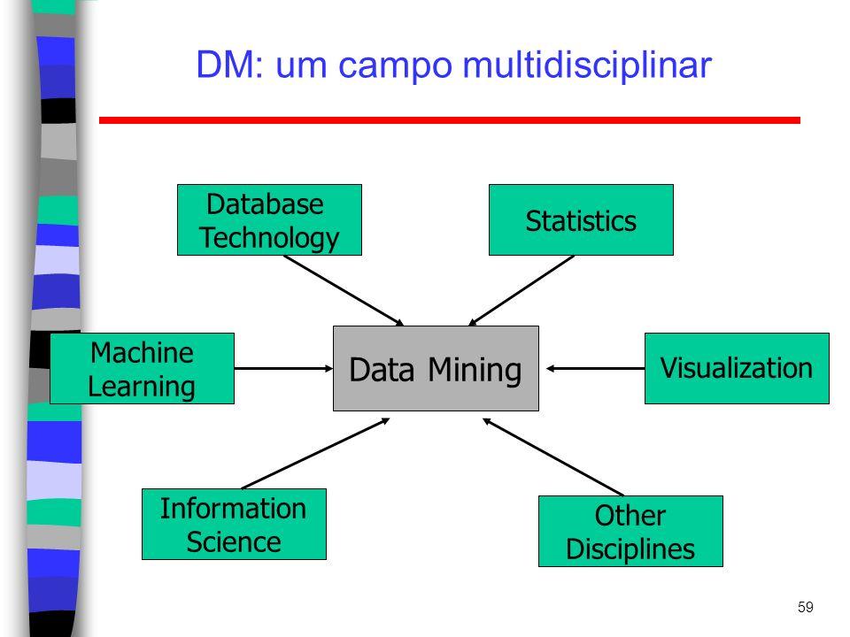 DM: um campo multidisciplinar