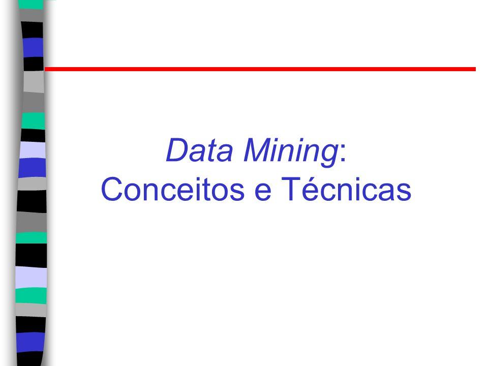 Data Mining: Conceitos e Técnicas