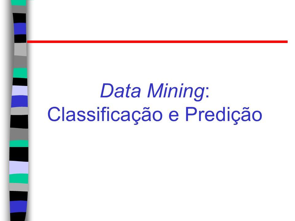 Data Mining: Classificação e Predição