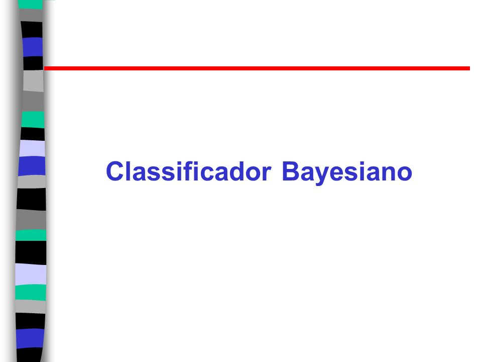 Classificador Bayesiano