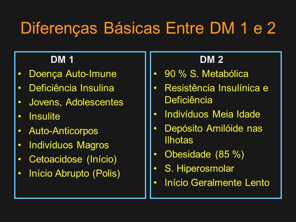 Diferenças Básicas Entre DM 1 e 2