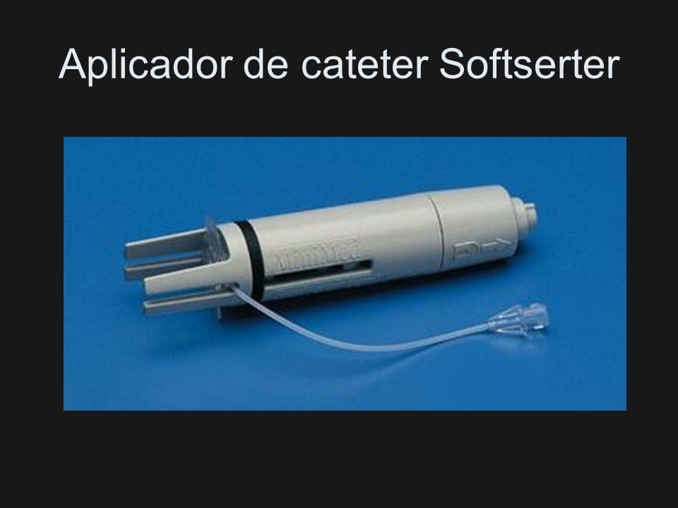 Aplicador de cateter Softserter