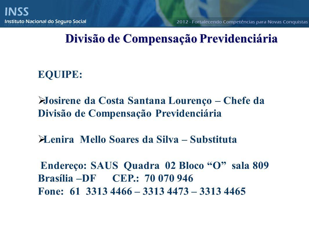 Divisão de Compensação Previdenciária