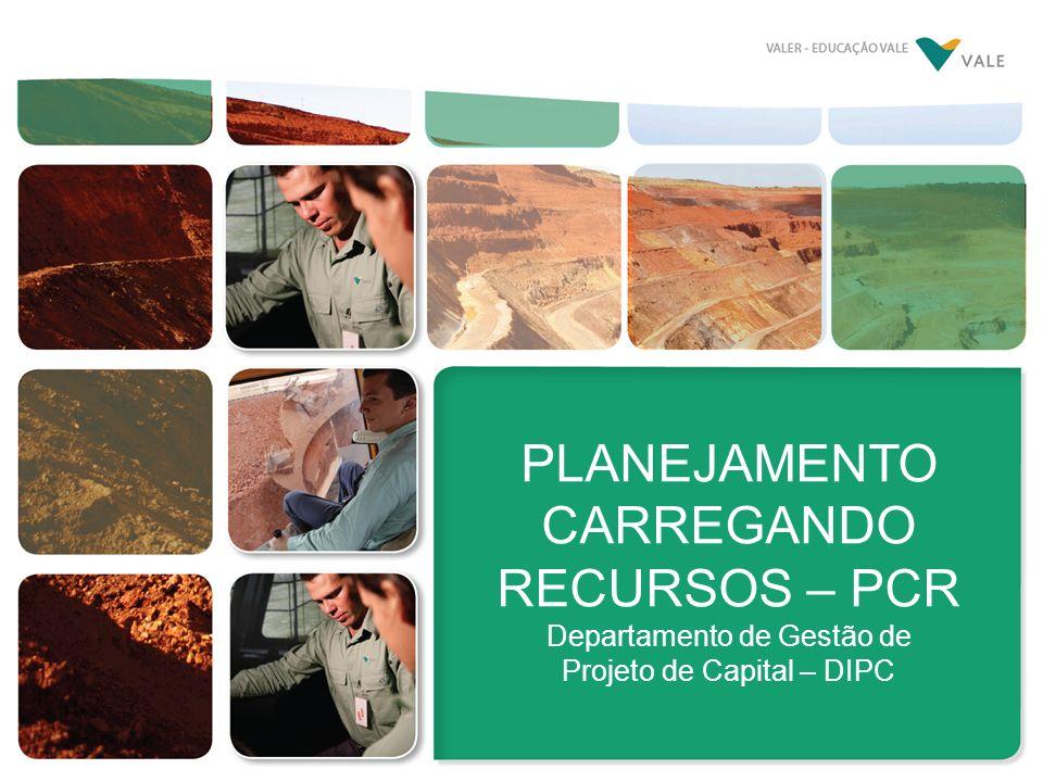 PLANEJAMENTO CARREGANDO RECURSOS – PCR Departamento de Gestão de Projeto de Capital – DIPC