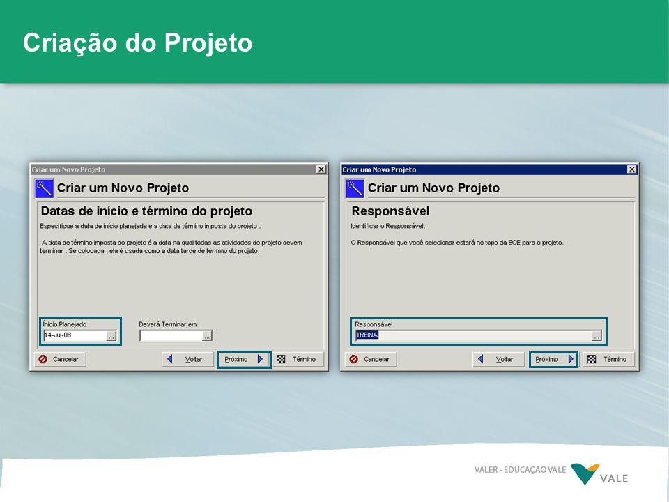 Criação do Projeto