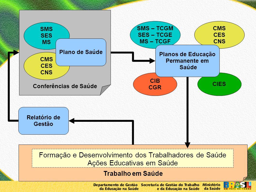 Formação e Desenvolvimento dos Trabalhadores de Saúde