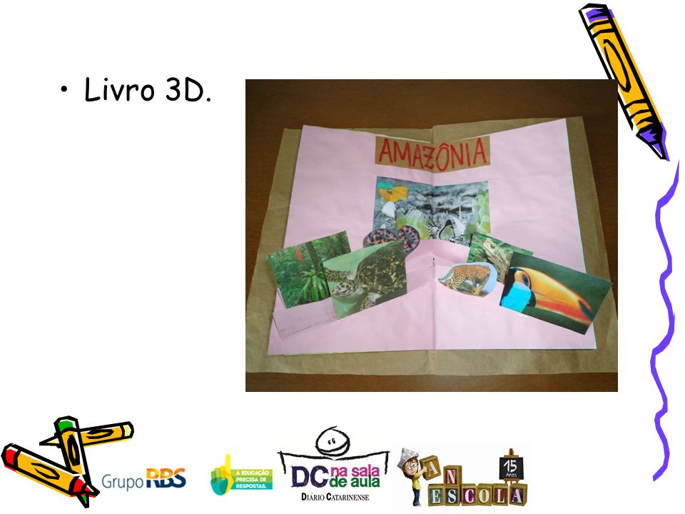 Livro 3D.