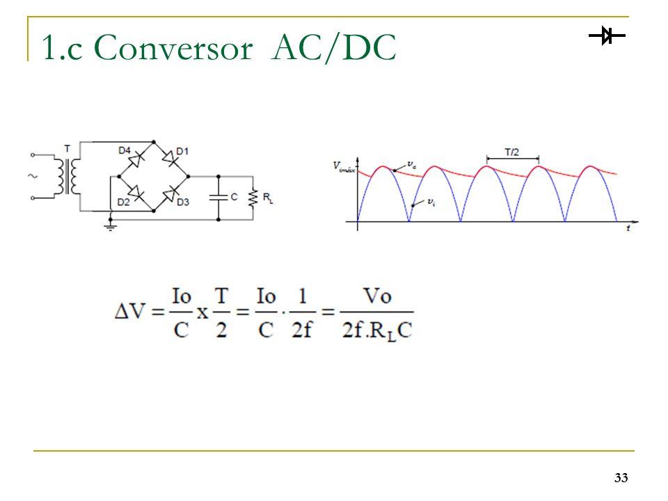 1.c Conversor AC/DC
