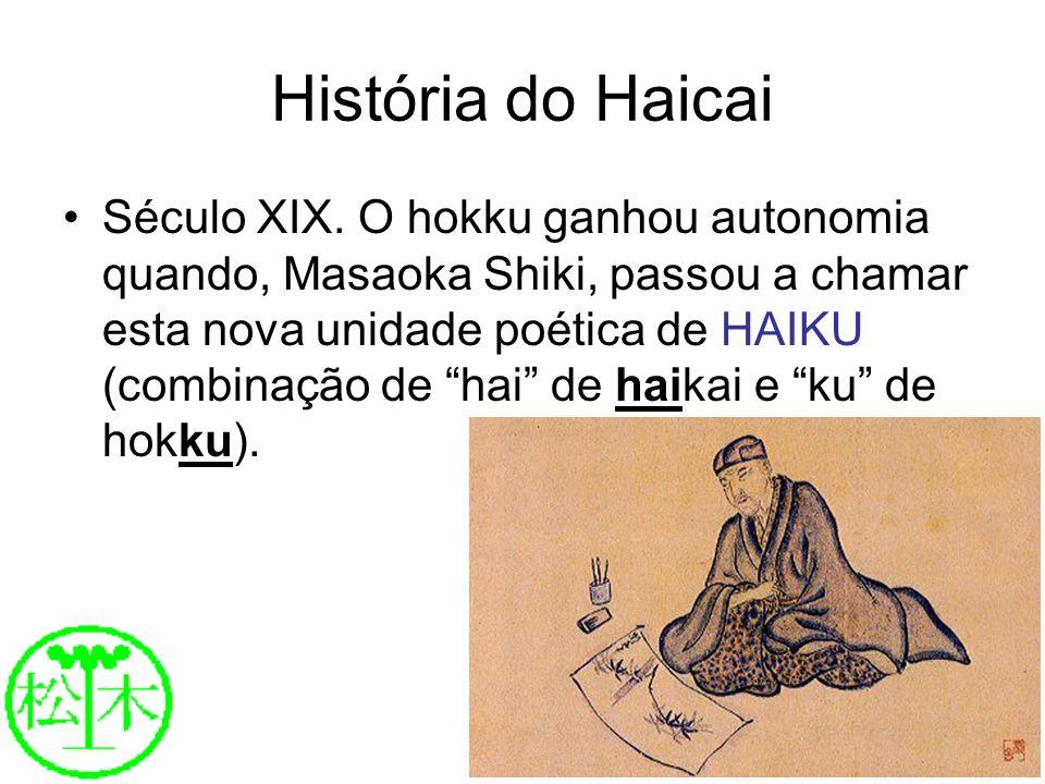 História do Haicai