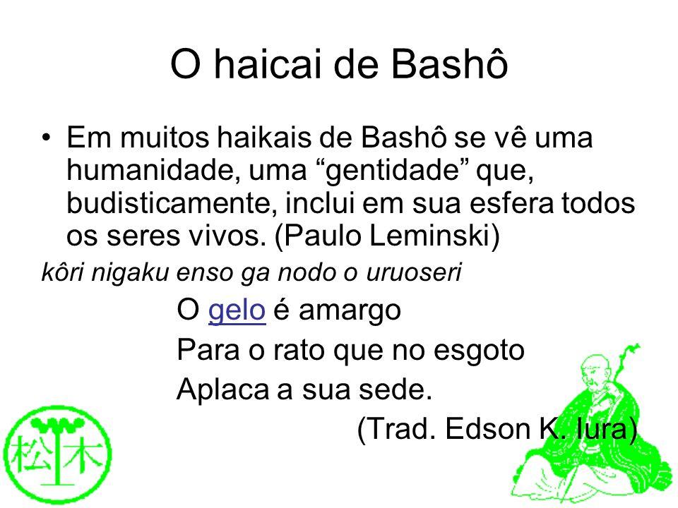 O haicai de Bashô