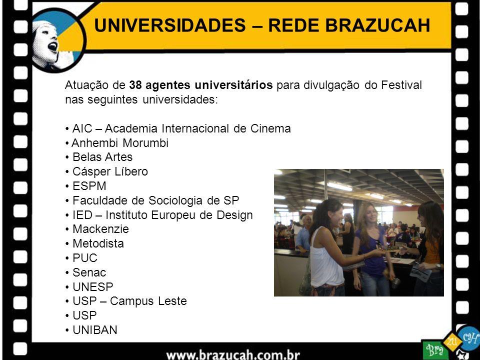 UNIVERSIDADES – REDE BRAZUCAH