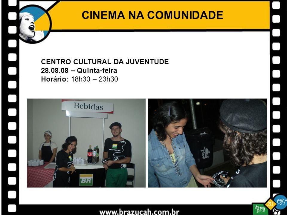 CINEMA NA COMUNIDADE CENTRO CULTURAL DA JUVENTUDE