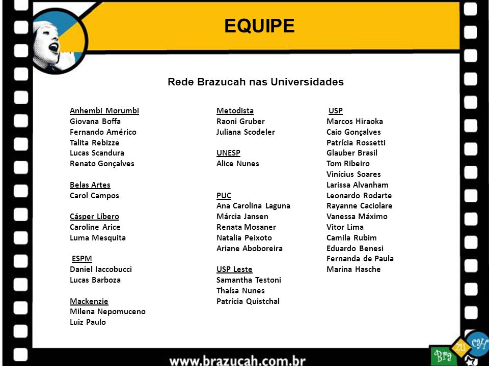 Rede Brazucah nas Universidades