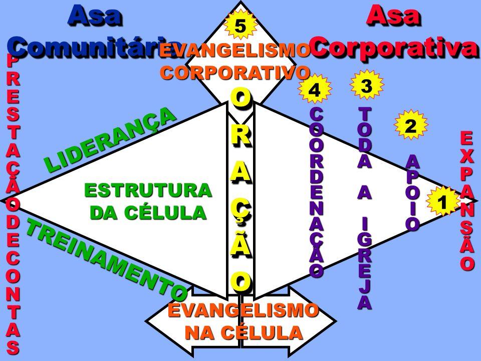Asa Comunitária Asa Corporativa O R A Ç Ã LIDERANÇA TREINAMENTO 5