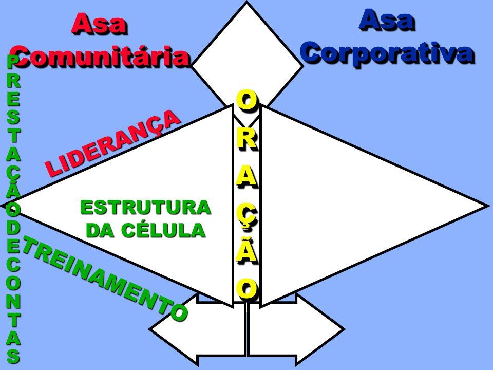 Asa Asa Corporativa Comunitária O R A Ç Ã LIDERANÇA TREINAMENTO