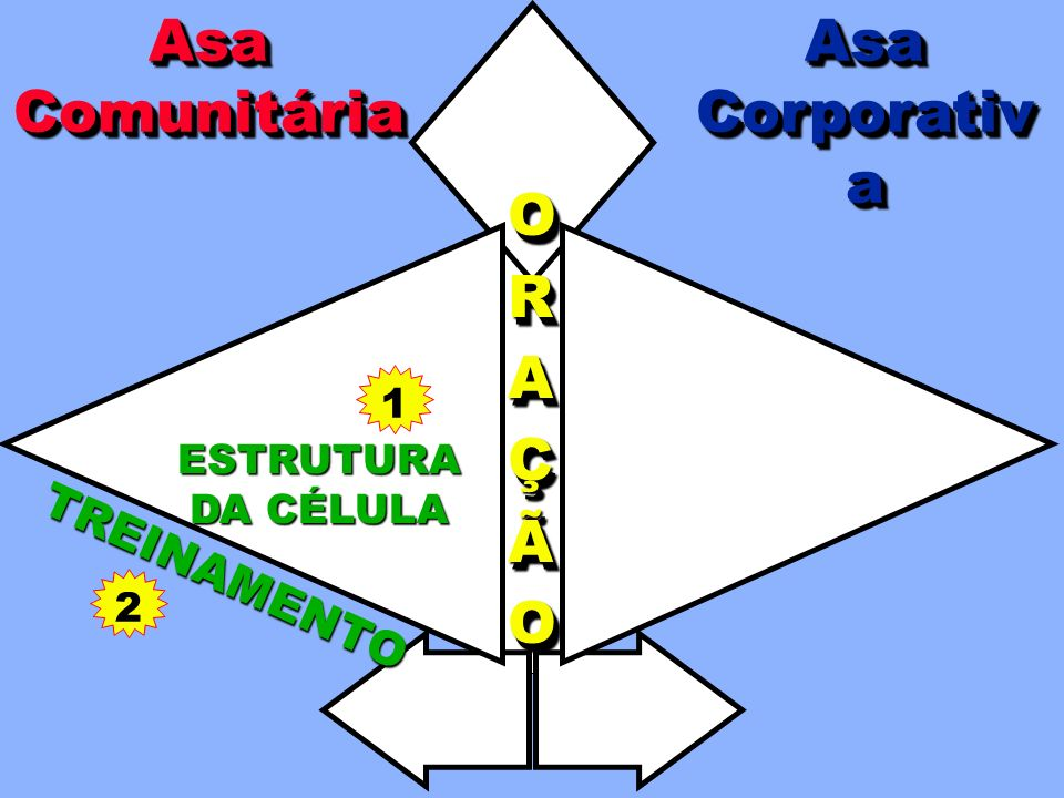 Asa Comunitária Asa Corporativa O R A Ç Ã TREINAMENTO 1