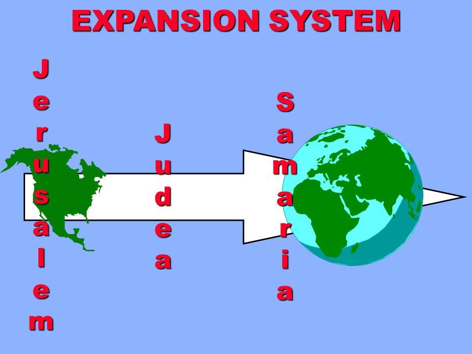 EXPANSION SYSTEM J e r u s a l m S a m r i J u d e a