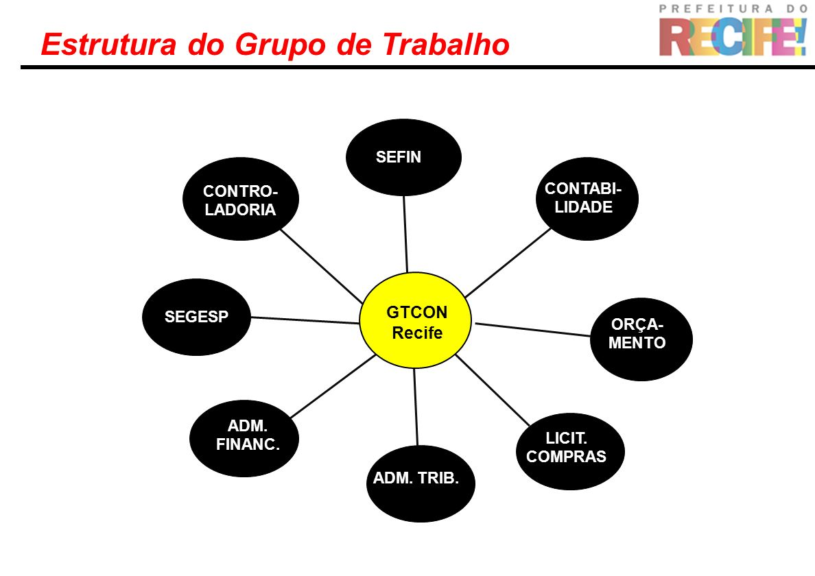 Estrutura do Grupo de Trabalho