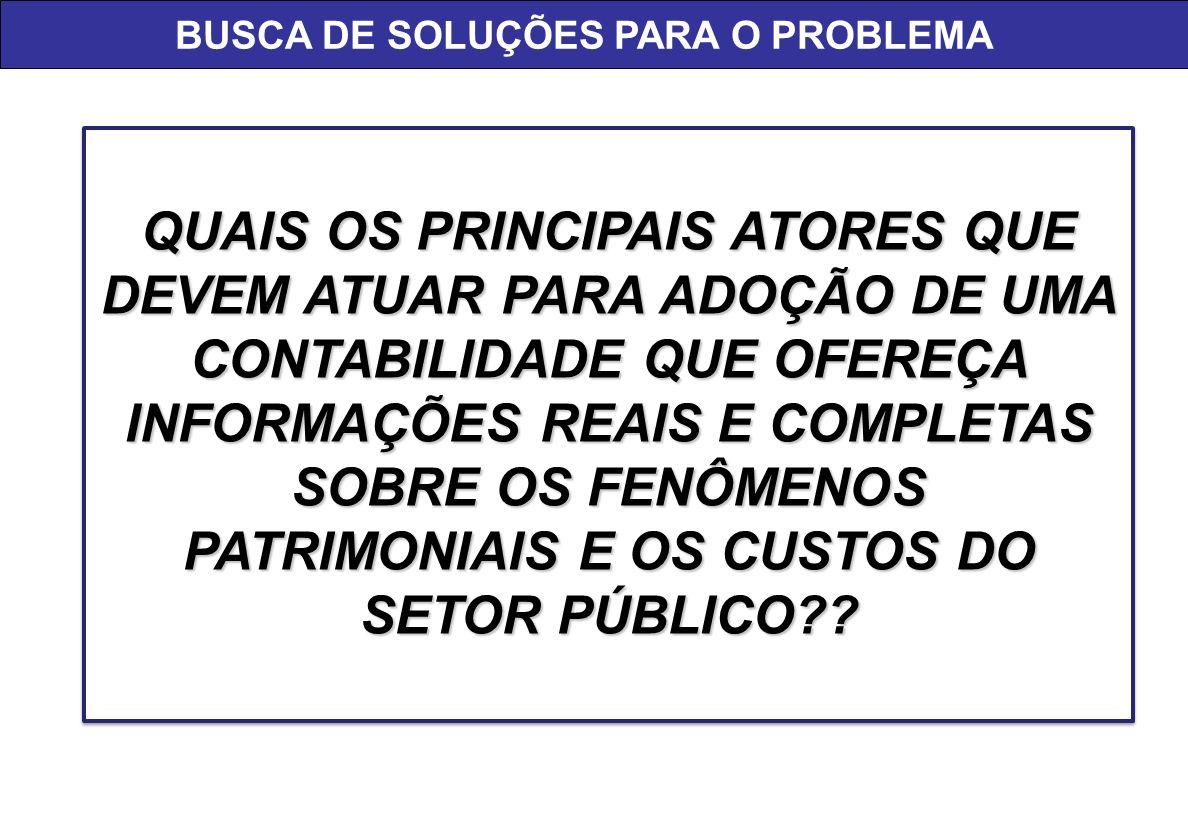 BUSCA DE SOLUÇÕES PARA O PROBLEMA