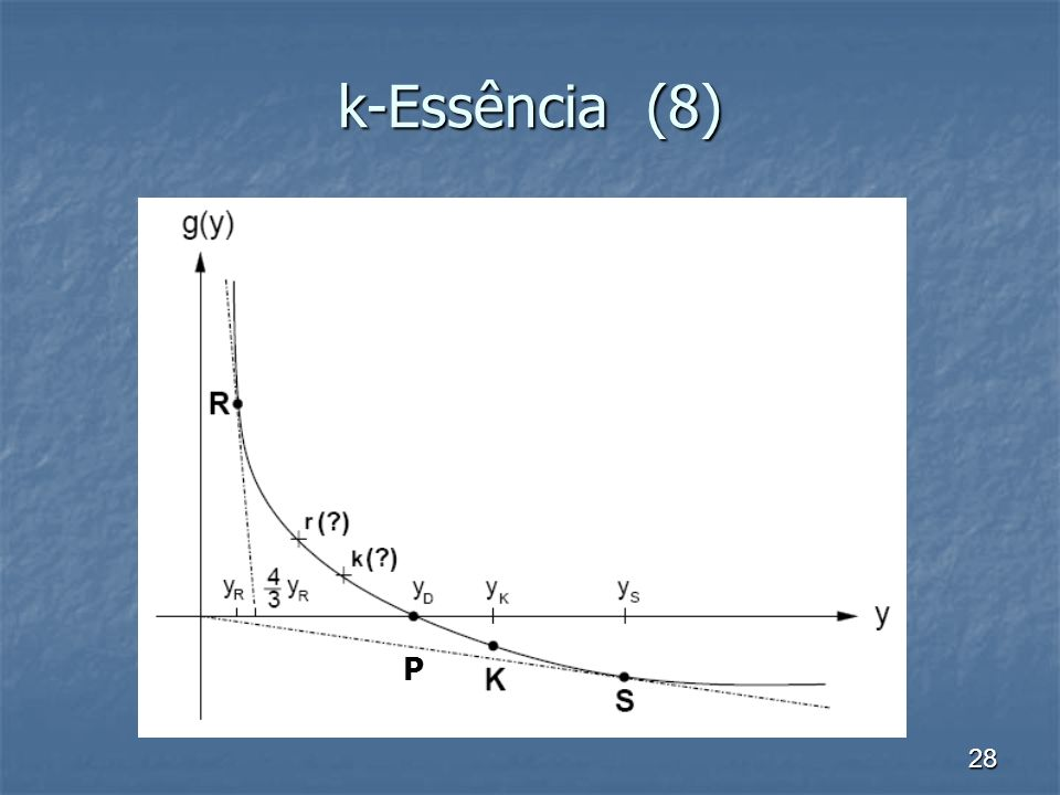 k-Essência (8) P