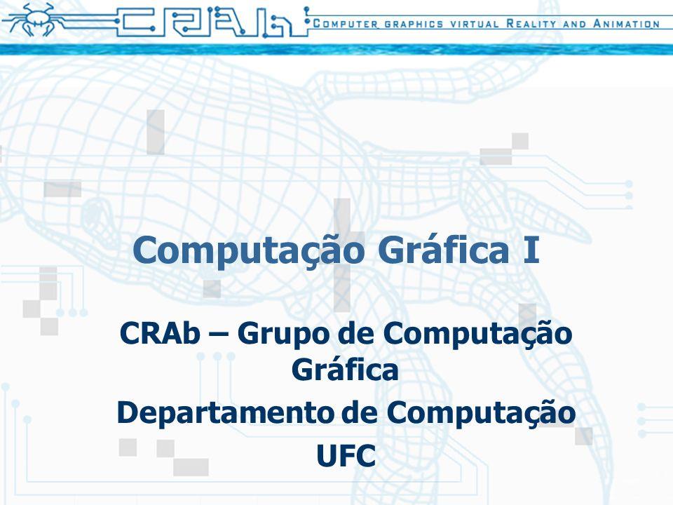 CRAb – Grupo de Computação Gráfica Departamento de Computação UFC