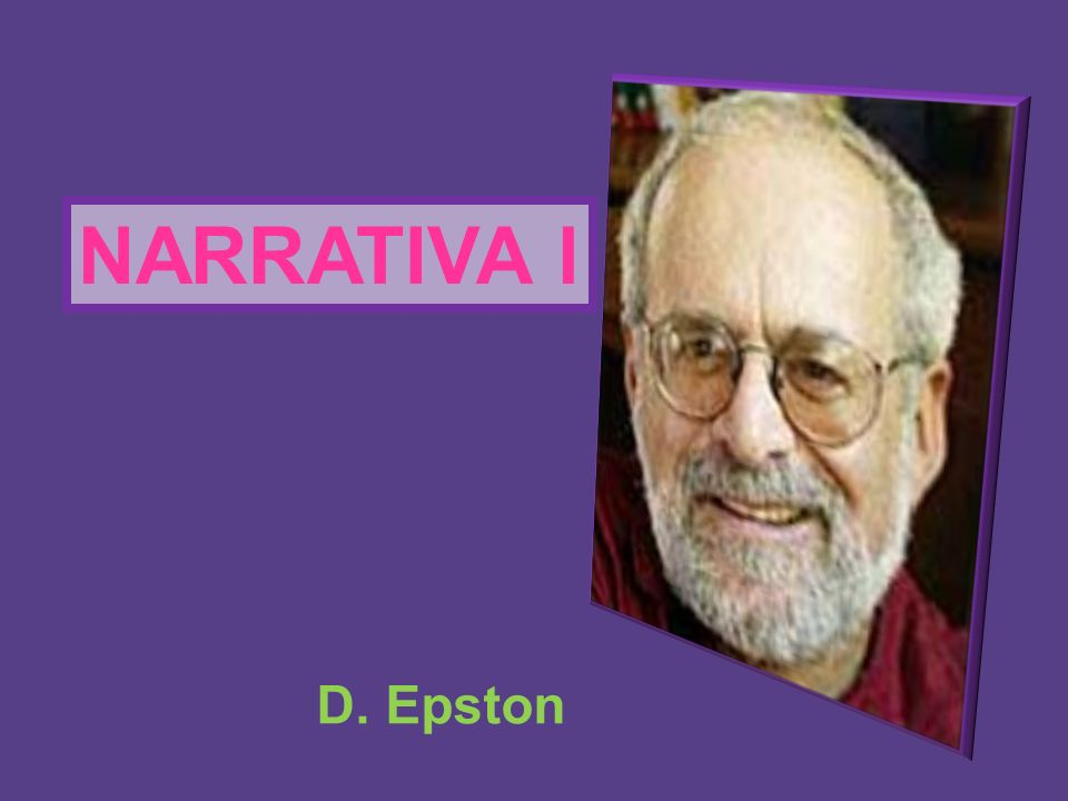 NARRATIVA l D. Epston