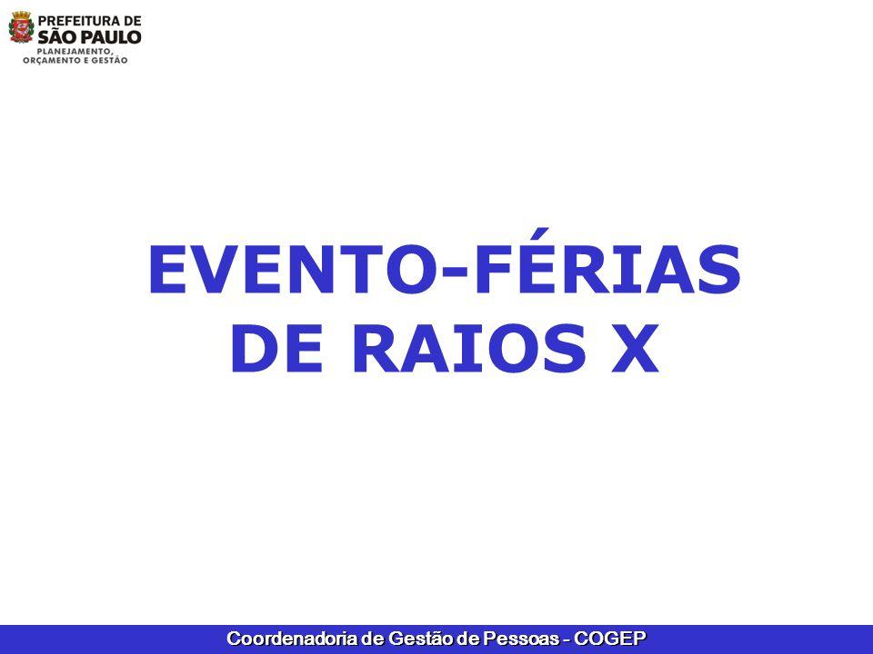 EVENTO-FÉRIAS DE RAIOS X