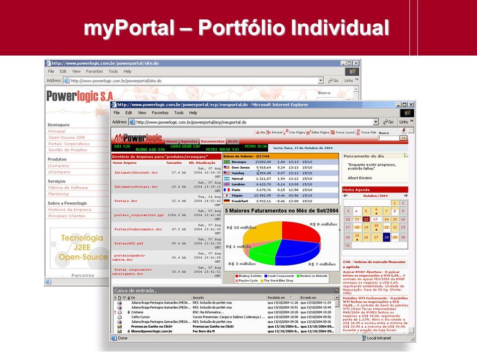 myPortal – Portfólio Individual