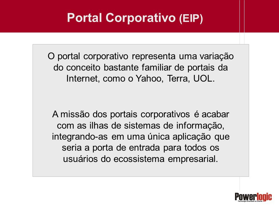 Portal Corporativo (EIP)