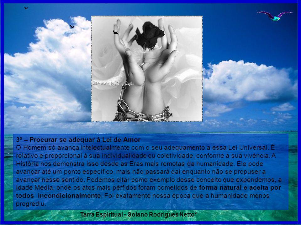 3º – Procurar se adequar à Lei de Amor