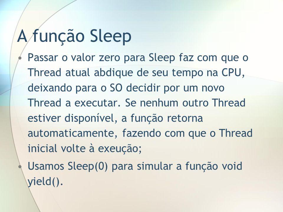 A função Sleep