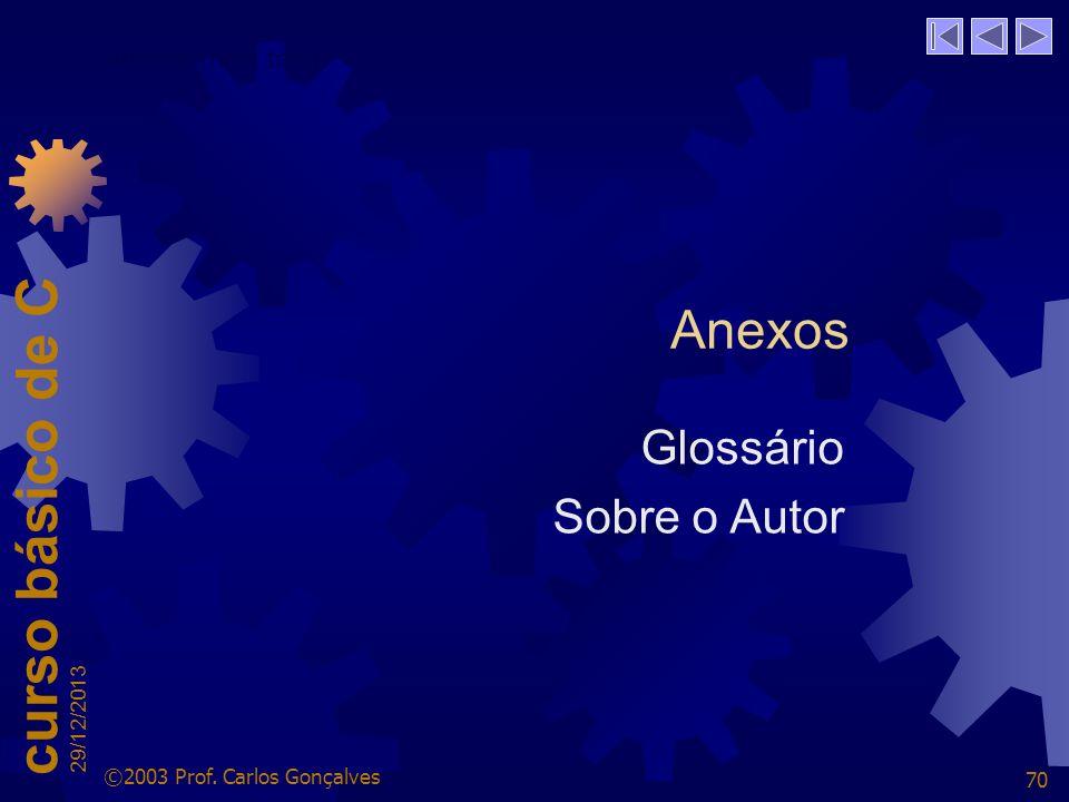 Anexos Glossário Sobre o Autor Anexos (hide text)